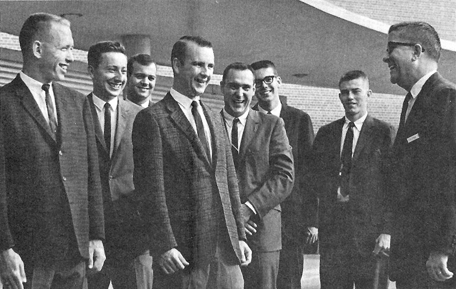 The first UF master's in health administration class will celebrate its 50th anniversary next year.  The university will honor all members of the UF class of 1966 at Grand Guard Homecoming Weekend held in the fall. The event includes a breakfast of memories, campus tours, dinner and dancing, and induction into the Grand Guard Society.